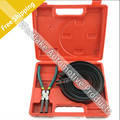 Piston Ring Compressor Cylinder Installer Ratchet Pliers 13pcs bands Tool Set 62~145mm