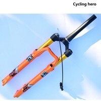Горный велосипед воздушный велосипедная подвеска вилка Передняя вилка для велосипеда Ход 100 120 мм производительность превышает лиса EPIXON LTD