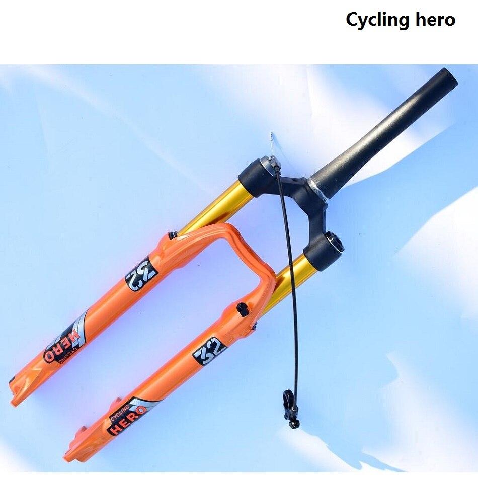 O curso dianteiro 100-120mm da forquilha da bicicleta da tomada da bicicleta da suspensão do ar da bicicleta da montanha desempenho excede o sr epixon ltd 32mm 26 27.5 29