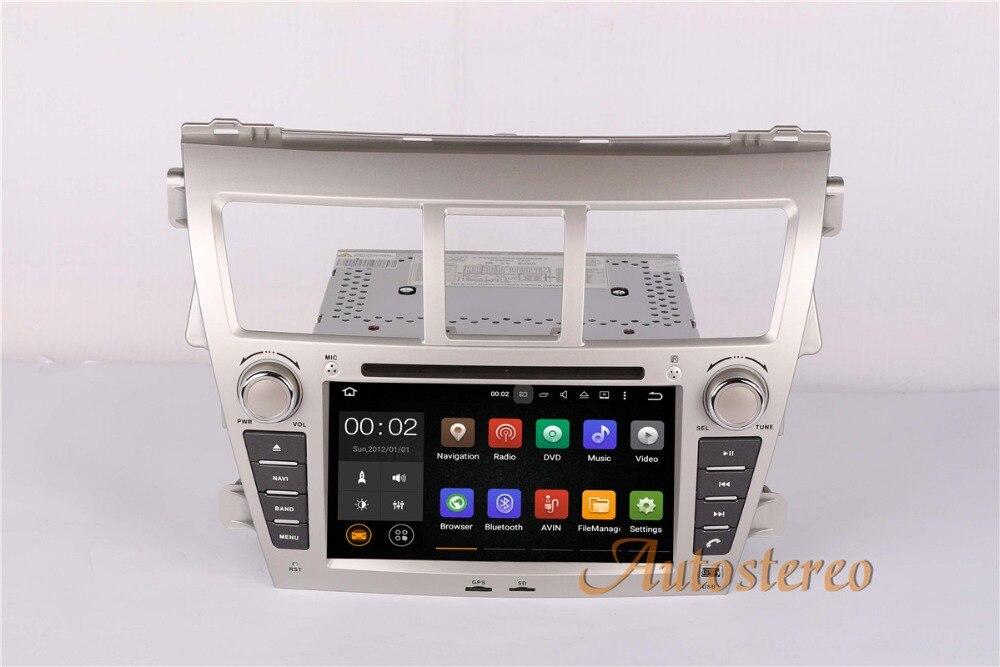 Quad Core Android 6.0 7.1 Two Din Car DVD Player Satnav for TOYOTA Vios Belta Yaris Sedan Car GPS Navigation Car Radio Stereo колье belta 214d b