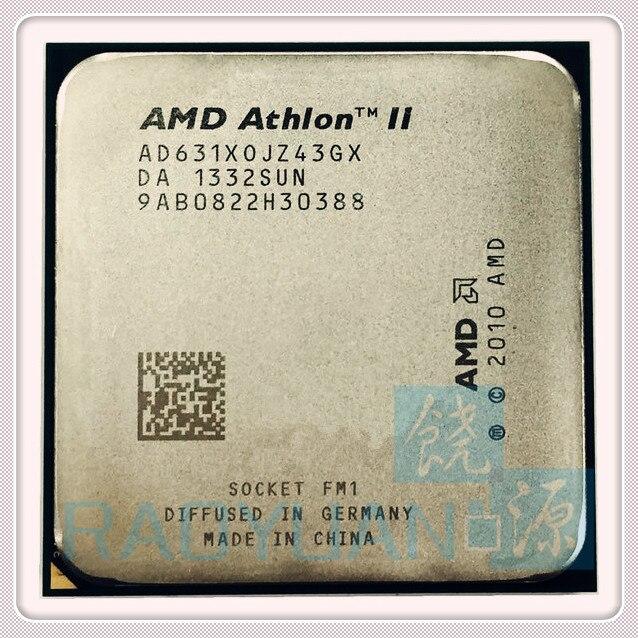 AMD Athlon X4 631 X4 631x 2.6GHz 100W Quad-Core CPU Processor X4-631 AD631XWNZ43GX Socket FM1/ 905pin