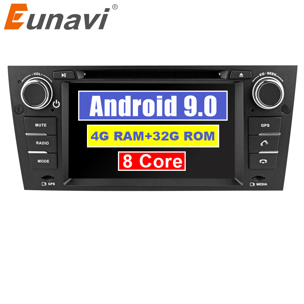 Eunavi 7 Octa Core 1 Din Android 9.0 Car DVD GPS Navi For 3 Series BMW E90 E91 E92 E93 318 320 325 For Manual Air ConditioningEunavi 7 Octa Core 1 Din Android 9.0 Car DVD GPS Navi For 3 Series BMW E90 E91 E92 E93 318 320 325 For Manual Air Conditioning