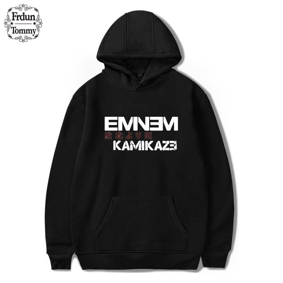 Frdun Tommy 2018 Eminem DJ Hip Hop Hoodies Kamikaze Album Spring/Autumn Hoodies Warm Women/Men Long Sleeve Sweatshirts Hoodies jung kook bts persona