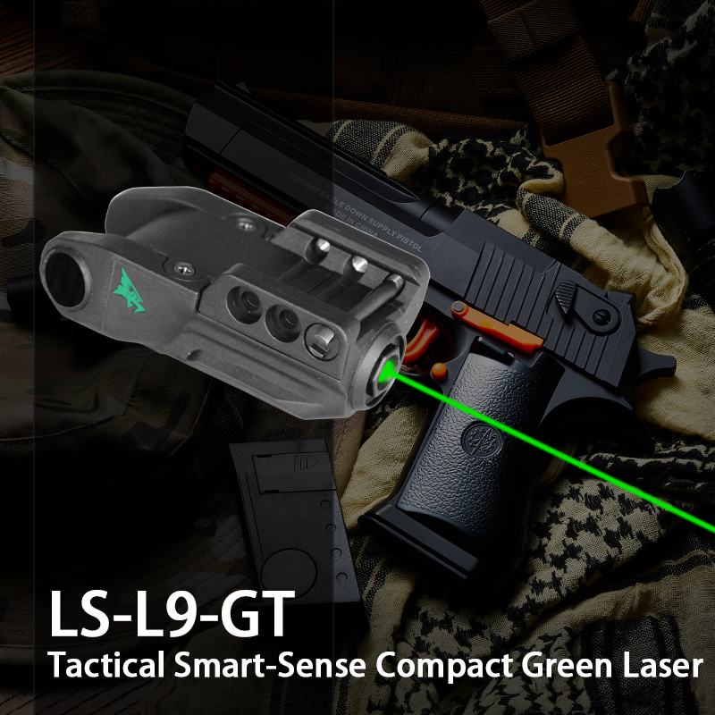 Intelligent Green Laser Pointer Air Gun Pistol Weapon Accessories Built-In Rechargeable Battery Beretta 92Fs Laser Sight Glock