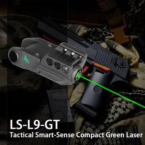 Intelligent Green Laser Pointe