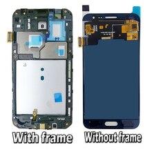 Регулировка яркости экрана для Samsung Galaxy J3 2016 J320F J320H J320FN J320M/DS ЖК-дисплей сенсорный экран дигитайзер Рамка
