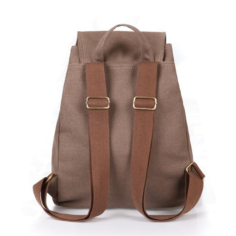 Canvas Men Backpack College High School Bags For Teenager Boy Girls Laptop Travel Backpacks Mochila Rucksacks