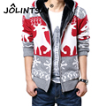 New Spring Plus Size Mens Sweaters Men Thick Cardigan Men Christmas Sweater With Deer Jacket Casual Knitted Sweater Clothing