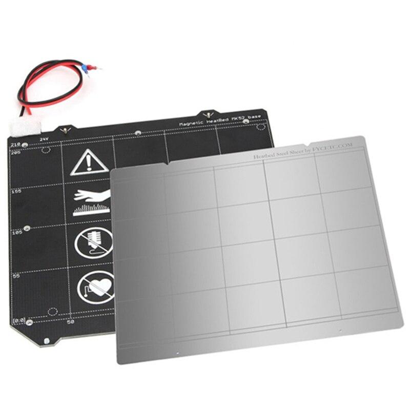 For Prusa I3 Mk3 3D Printer Mk3 Magnetic Heat Bed Mk52 24V ...