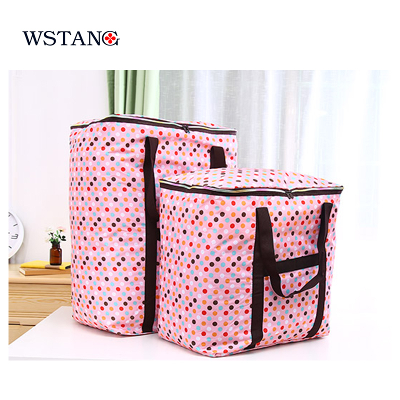 W S TANG new 2015 Skgs quilt clothes big bag oxford fabric quilt extra large  storage bag portable luggage bags on Aliexpress.com  ab9c30ab7f37