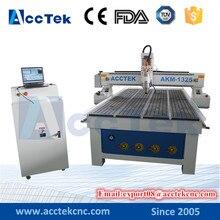 AccTek 1325 cnc router for metal mould cnc sheet metal engraving machine for sale