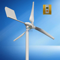 HAWT 800W Rated Power 600w Windmill With 12v 24v Automatic Recognition MPPT 12v 24v AUTO Hybrid