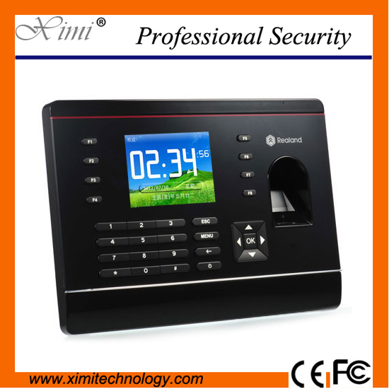 цена на TCP/IP fingerprint time attendance color screen 2000 user time attendance fingerprint password RFID card time atteendance