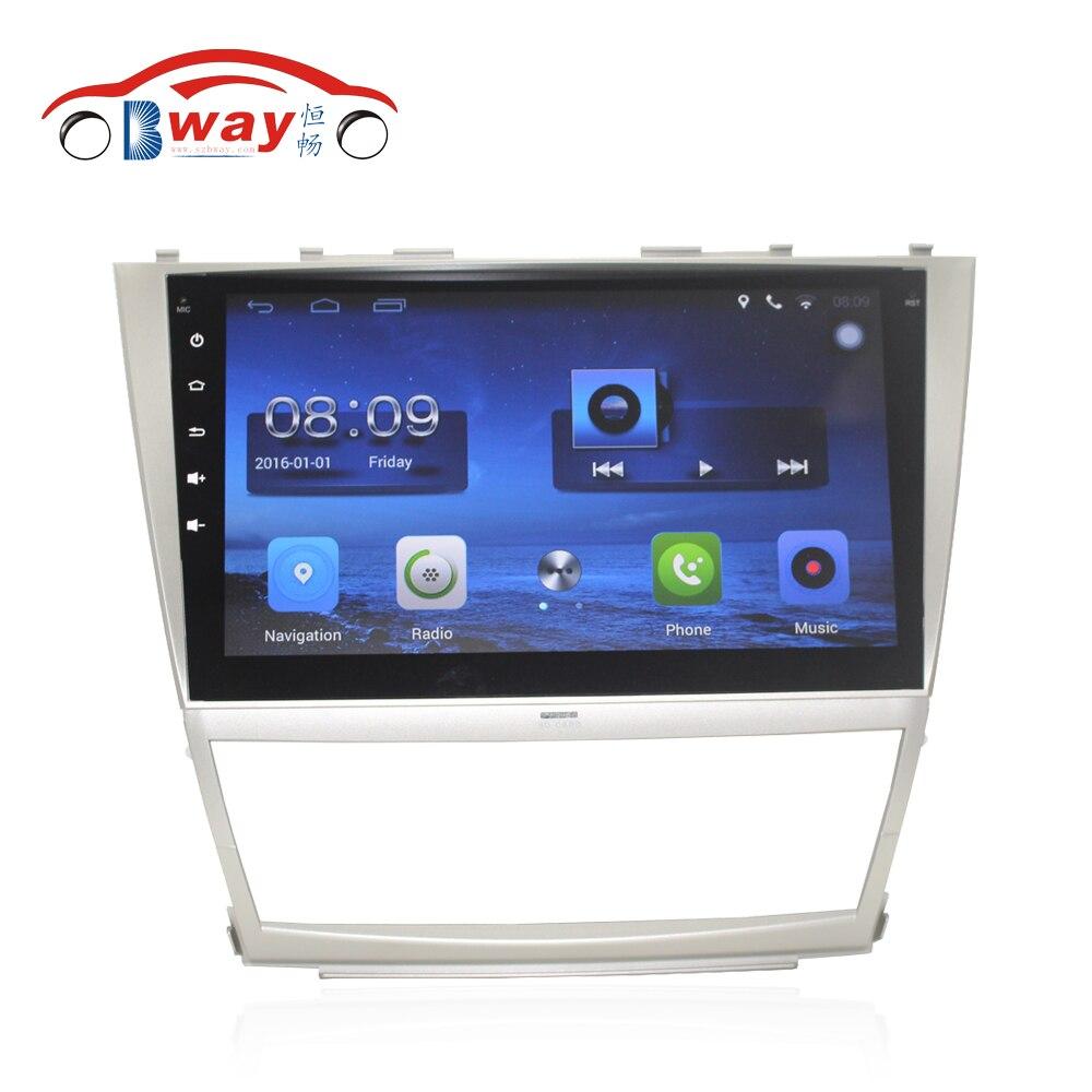 """Prix pour Capacitif 10.2 """"Quadcore Android 6.0.1 autoradio pour Toyota Camry 2006-2011 voiture dvd lecteur vidéo avec 1G RAM, 16 GB iNAND"""