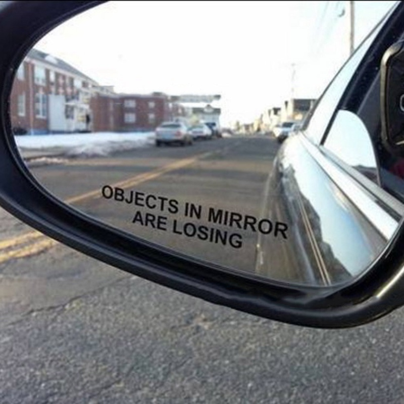 Assholes in mirror decals — photo 9