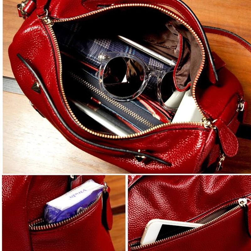 Divatos női táska Puha bőr párna Női kézitáskák Márka nagy - Kézitáskák - Fénykép 6