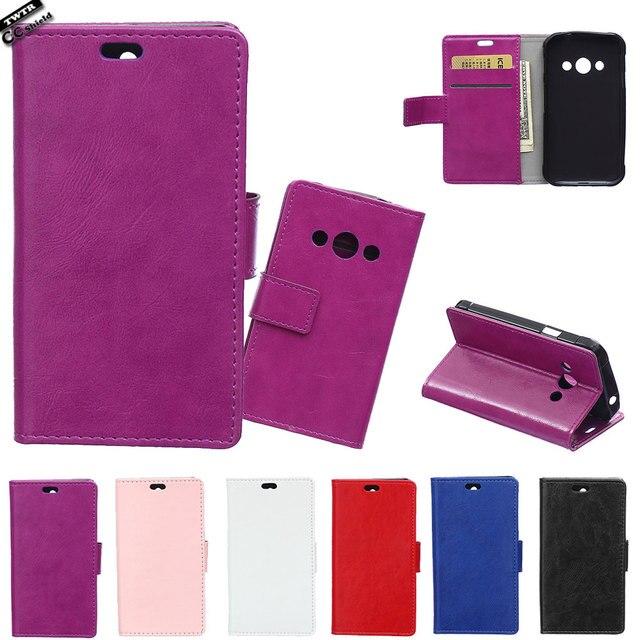 Flip Case for Samsung Galaxy XCOVER 3 G388F G389F Phone Leather Case For Samsung XCOVER3 SM-G388F SM-G389F G 388F 389F black Bag