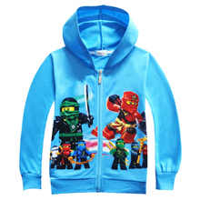 Autumn Kids Clothes Ninjago Children Hoodies Long Sleeve Girls Clothes Tracksuit Baby Boys Clothing Kids Casual Costume