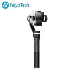Image 3 - FeiyuTech G5GS Splash הוכחה כף יד Gimbal מייצב עבור Sony AS50 AS50R Sony X3000 X3000R פעולה מצלמה רוסית מחסן