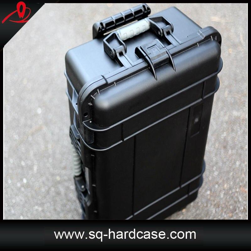 SQ5206 ruote impermeabile alla polvere custodia per il trasporto in colore neroSQ5206 ruote impermeabile alla polvere custodia per il trasporto in colore nero