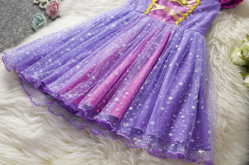 HTB1TWahX.Y1gK0jSZFMq6yWcVXaf Infant Baby Girls Rapunzel Sofia Princess Costume Halloween Cosplay Clothes Toddler Party Role-play Kids Fancy Dresses For Girls