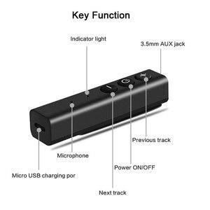 Image 5 - McGeSin אלחוטי Bluetooth מתאם מקלט סטריאו מוסיקה אודיו מקלט לרכב עם 3.5 שקע קולט עבור אוזניות רמקול