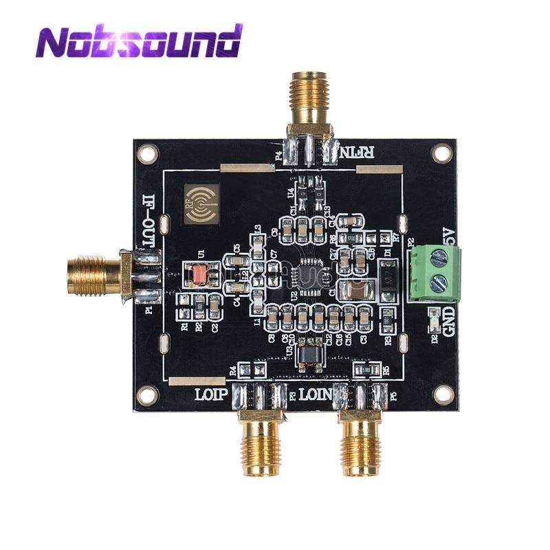 ADL5801 Double Balance Active Frequency Mixer Module Balun Coil Coupling Signal adl5801 module dual balanced mixer module up and down mixing down mixing balun coupling