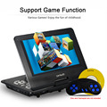 GKNUO GKN-900 9 Inch DVD Player Digital Multimedia Player Support U Drive Play & Card Reader FM / TV / Game Function