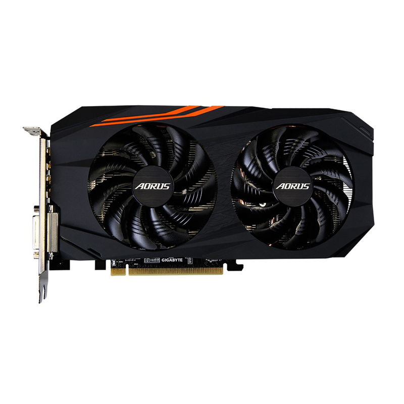 Gigabyte Graphics-Card Used Amd Rx580 Rx 580 GDDR5 Desktop Video-Gaming Pci Express 4GB