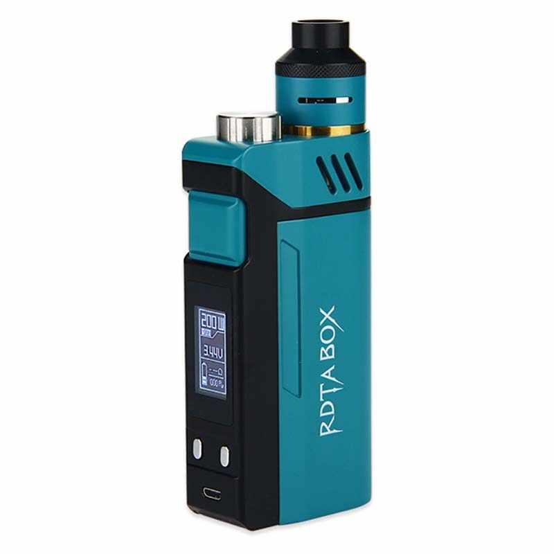 Оригинальный набор IJOY RDTA 200 Вт, емкость 12,8 мл, электронная сигарета, NI/TI/SS, со строительным блоком IMC, в наличии