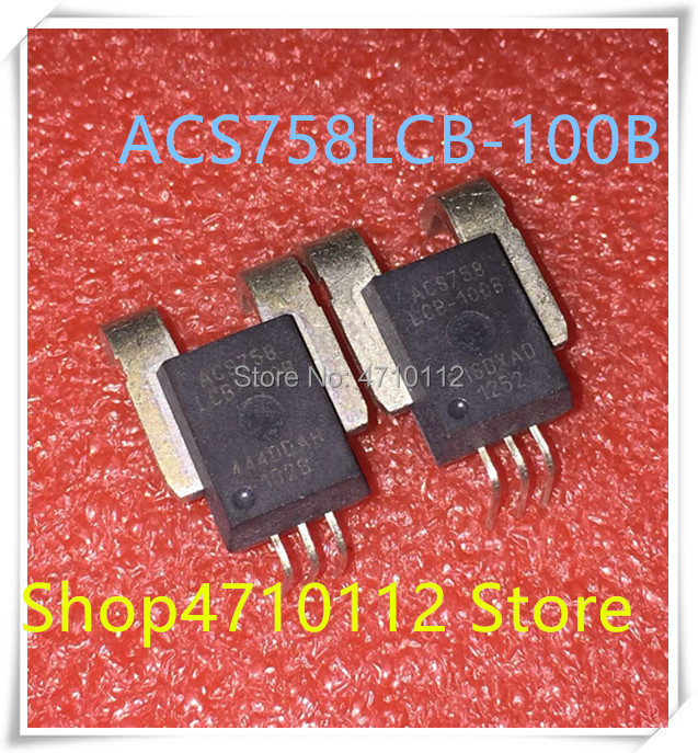 NEW 5PCS/LOT ACS758LCB-100B ACS758LCB 100B ACS758 CB-5 IC