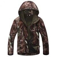 Winter Lurker Shark Skin Soft Shell Army Military Tactical Jacket Waterproof Windbreaker Camouflage Outwear Fleece Jacket