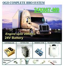 OGO Complete HHO system X667 M9 intelligent PWM controller CE&FCC MAF/MAP enhancer upto 20000CC