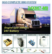 Ogo Compleet Hho Systeem X667 M9 Intelligente Pwm Controller Ce & Fcc Maf/Kaart Enhancer Tot 20000CC