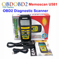 New Memoscan U581 OBDII Automotive Diagnostic Scanner Tool CAN OBD 2 II EOBD Car Auto Code Reader Scan OBD2 Scaner