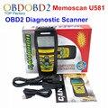 Novo Memoscan U581 OBDII Ferramenta de Scanner De Diagnóstico Automotivo PODE 2 OBD II Leitor de Código de EOBD Car Auto Varredura OBD2 Scaner