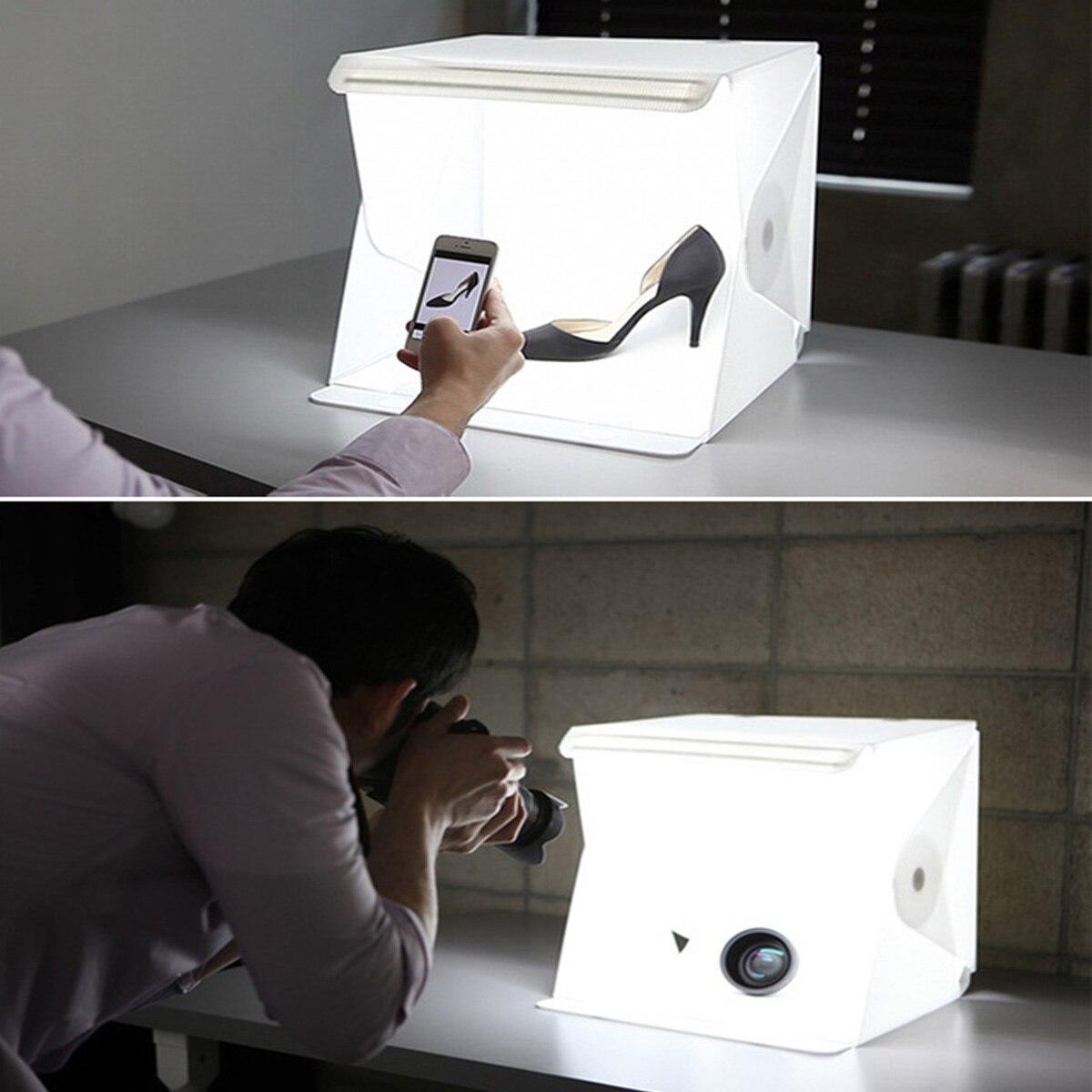 80x80x80cm Tragbare Falten Licht Box Fotografie Studio Softbox LED Licht Weichen Box Zelt Kit für telefon Kamera Foto Hintergrund