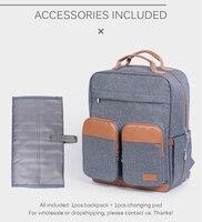 Diaper Bag Backpack for Mom Large Capacity Baby Care Nappy Maternity Bags Kit 2019 Mommy Travel Nursing Bag for Stroller