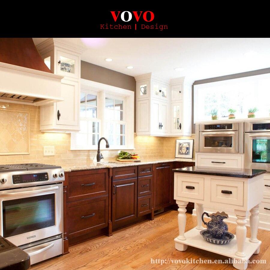 Solid Wood Kitchen Walnut Cabinets: Best Sense High Quality Solid Wood Walnut Kitchen Cabinets