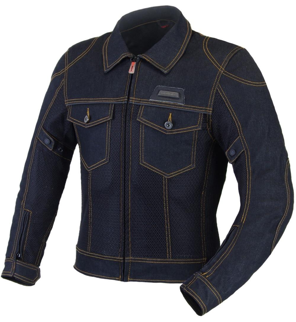 Benkia Мужская мотоциклетная куртка джинсовые Летние Мотоцикл всадника куртка Chaquetas Мотокросс Байкер джинсовая куртка защиты Шестерни Moto