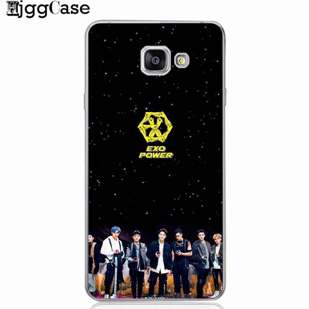 Kpop exo Lucky one KOKOPOP soft Cover Phone Case For Samsung Galaxy S6 S7 Edge S8 S9 plus J5 J7 A3 A5 A7 2016 2017 A8 plus 2018