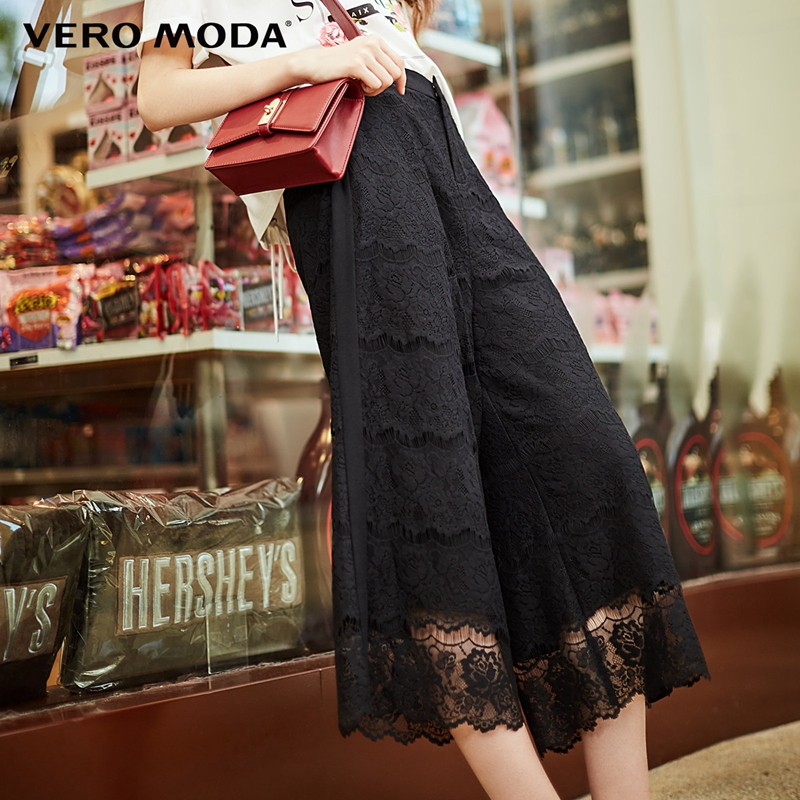 Vero Moda Lace Wide-leg   Capri     Pants   31816J519