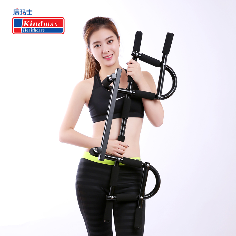 Kindmax Multi function Pull Up Bar Door Home Gym Horizontal Bar Chin Up Bicep Blaster Total Upper Body Workout Fitness Exercise - 4