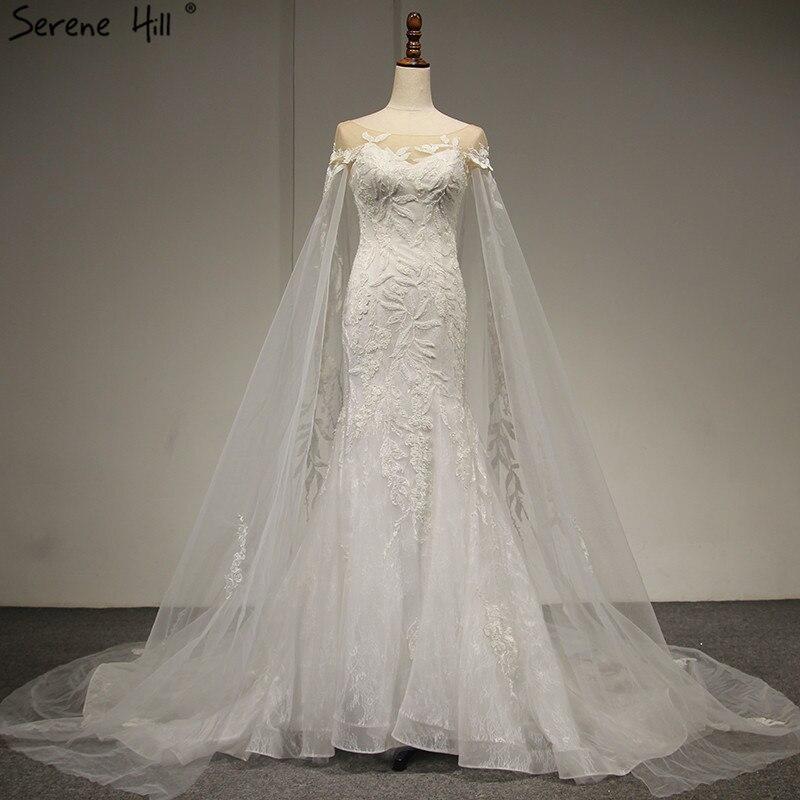White Sleeveless Shawl Yarn Vintage Wedding Dresses 2019