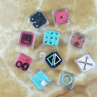 10 pcs Cube Mini Fidget Toy Finger EDC Anxiety Stress Relief Magic Cube Blocks Children Kids Funny Toys Best Gift