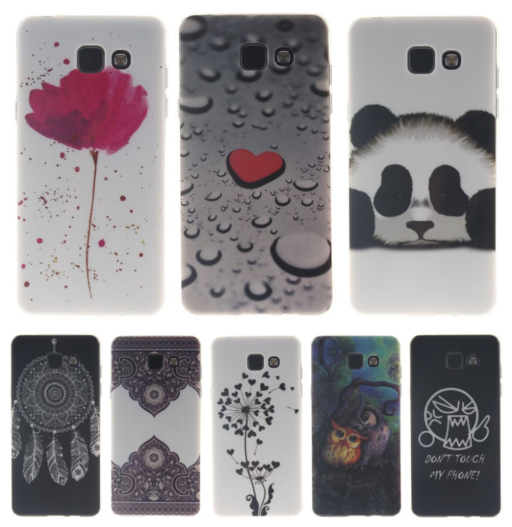 DEEVOLPO Soft Case For Samsung Galaxy S3 S4 S5 i9600 S6 S7 Edge G9200 G9250 J5 2015 J500F Owl Tiger lion Bags Fundas Capa D26I