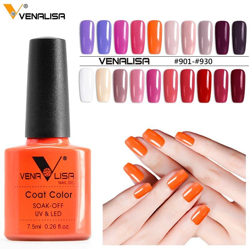 61508 Venalisa 7.5ml Nail Gel Polish Color Nail Gel