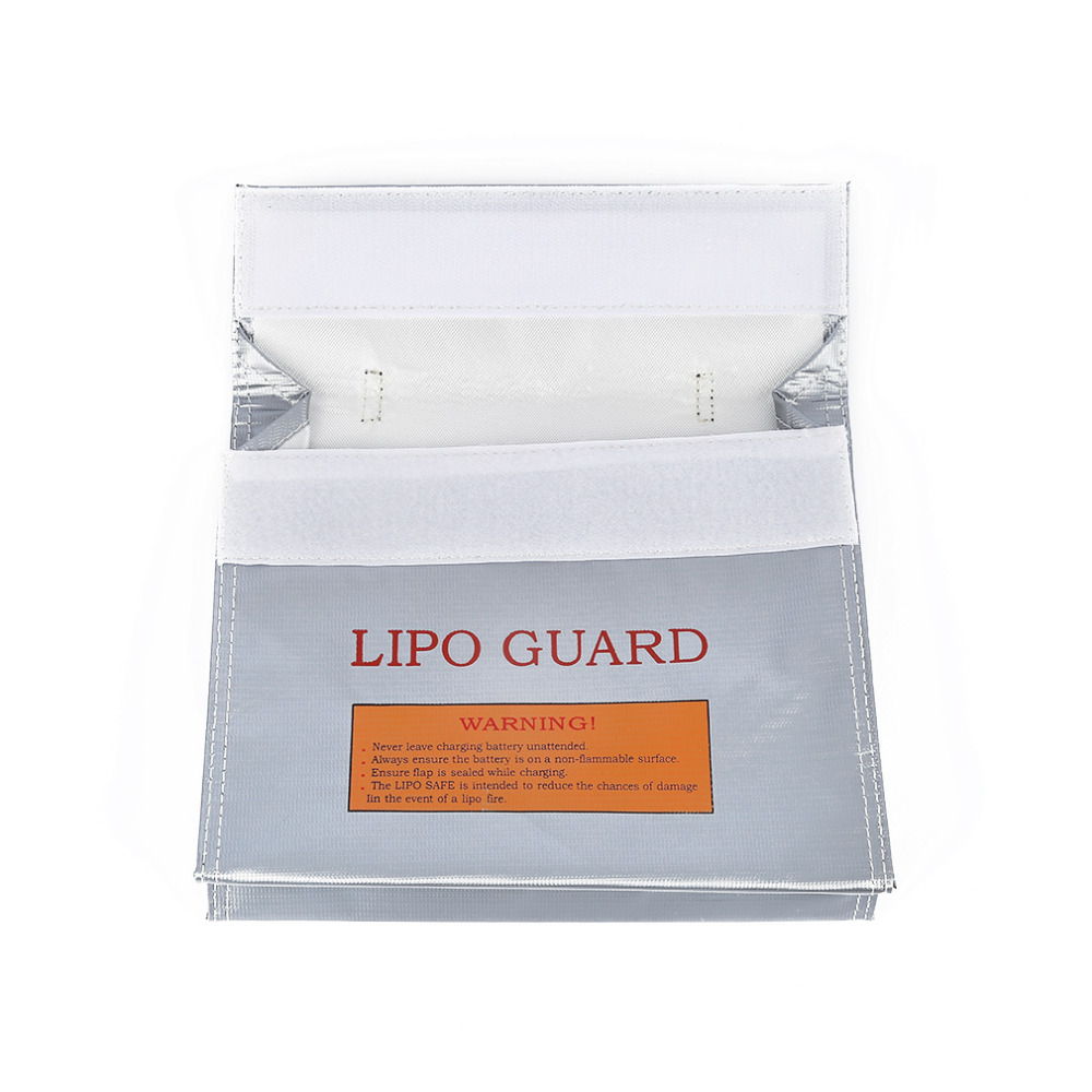 Safe Guard Charge Sack With Handle 240 180 65mm 1Pc RC LiPo Safety Bag Glass Fiber