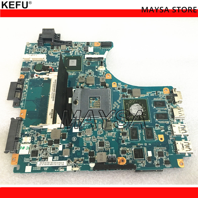 For Sony MBX-239 Laptop Motherboard MainBoard V060 REV:1.1 HM65 HD6630M 1GB Full Tested Free Shipping free shipping new v081 mbx 243 rev 1 1 motherboard for sony vpc f2 vpcf23 vpcf23jfx laptop gt540m