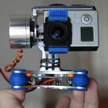 Brushless 2 Axis Gimbal Controller 2208 12V Camera gimbal For Gopro3 For DJI Wizard For Mountain dog For Eagle eye For Small ant 2017 new 3 axis handheld gimbal brushless stabilizer especially for spots camera gopro3 gopro3 gopro4 gopro5 hd xiaoyi a5